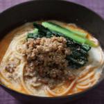 豆乳担々麺(汁そば)